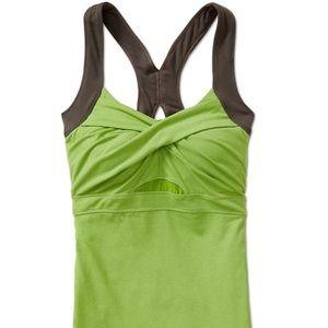 Athleta Jaya Tank in Green